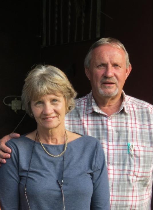 Mac and Elsa van den Berg